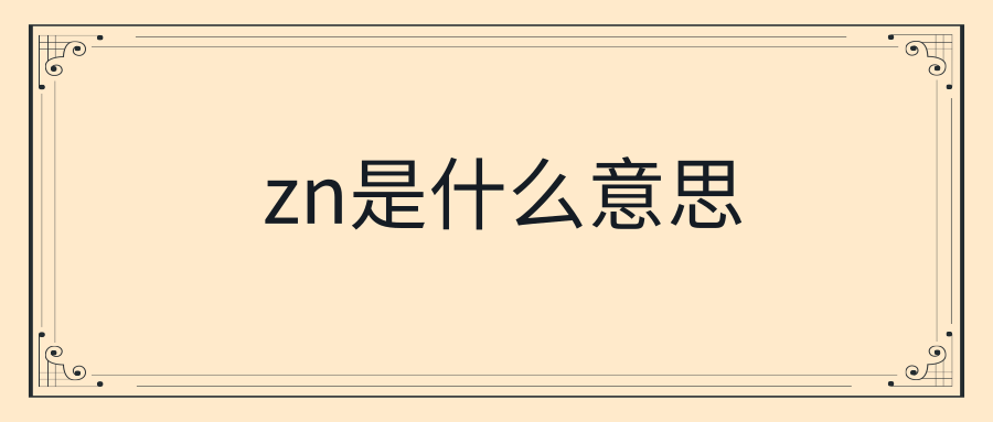 zn是什么意思